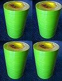 "1"" - 1 Case (24 ROLLS) - 3M 26336 Green Masking Tape 1 Inch 233+"