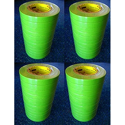"1"" - 1 Case (24 ROLLS) - 3M 26336 Green Masking Tape 1 Inch 233+"