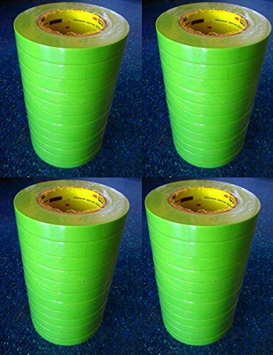 Image of 1' - 1 Case (24 ROLLS) - 3M 26336 Green Masking Tape 1 Inch 233+ Home Improvements
