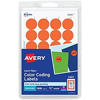 Amazon Avery Printwrite Self Adhesive Removable Labels 075