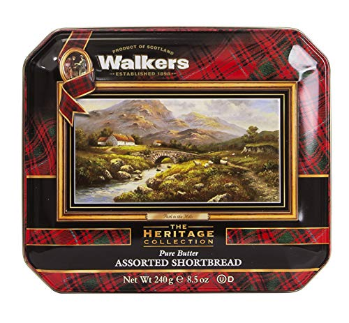 (Walkers Shortbread Assorted Path To The Hills Tins, 8.5 Ounces, (Pack of 2))