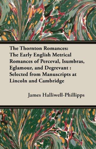 the thornton romances the early english metrical romances of 読書