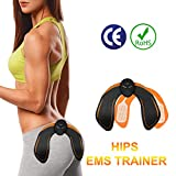 MOORAY SPORT Abs Stimulator Hips Trainer Buttock Toner EMS Electrical Abs Trainer Ab Stimulator Smart Fitness Training Gear Workout Equipment for Men Women
