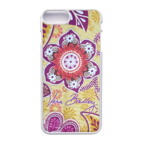 Coque,Apple Coque iphone 7 Plus (5.5 pouce) Case Coque, Generic Vera Bradley Bali Gold 'Gabby' Cover Case Cover for Coque iphone 7 Plus (5.5 pouce) blanc Hard Plastic Phone Case Cover