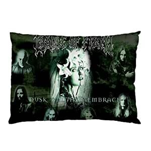 Miniwin Cradle of Filth Pillow Case Two Side Cover Rectangle Pillowcases Type D