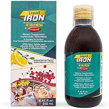 Amazon.com: Ceregumil Liquid Iron Supplement - Daily ...