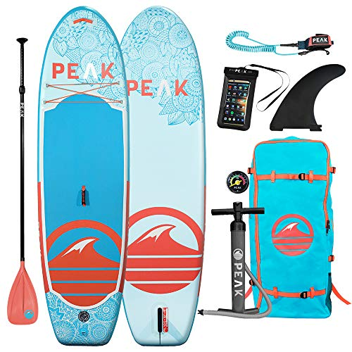 Peak Yoga & Fitness Inflatable Stand Up Paddle...