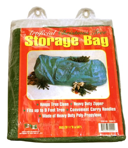 (Good Tidings Just Ribbons Artificial Christmas Tree Storage Bag Size 28 1/2