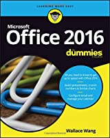 Office 2016 For Dummies Front Cover