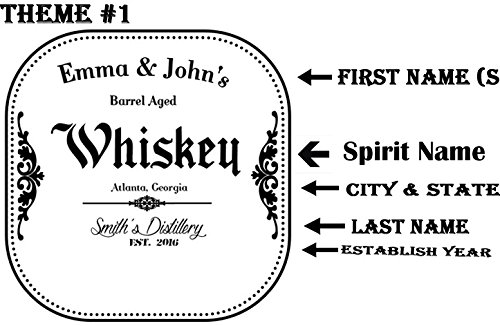 (2 Liters) Personalized - Customized American White Oak Aging Barrel - Barrel Aged Whiskey