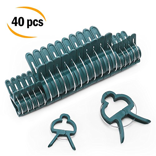 Medium Orchid Clip (Sago Brothers Plant Clips, Orchid Clips 40 PCS, Tomato Support Climbing Plants, Vines, Stems - Works Bamboo Stakes, Tomato Cage, Garden Trellis)