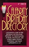 Celebrity Birthday Directory, Axiom Information Resources Staff, 0943213266