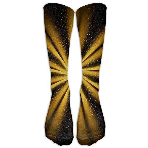 GoldenGolden Round Socks Soccer Socks Stockings Knee Socks For Soccer,Running,Football,Baseball,Medical,Athletic,Edema,Diabetic,Varicose Veins,Travel,Shin Splints,Nursing.