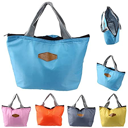 Pinkdose® Orange: 2018 Quality Bags of Free Shipping Waterproof Portable Picnic Insulated Food Storage Box Tote Lunch Bag for Climbing Camping