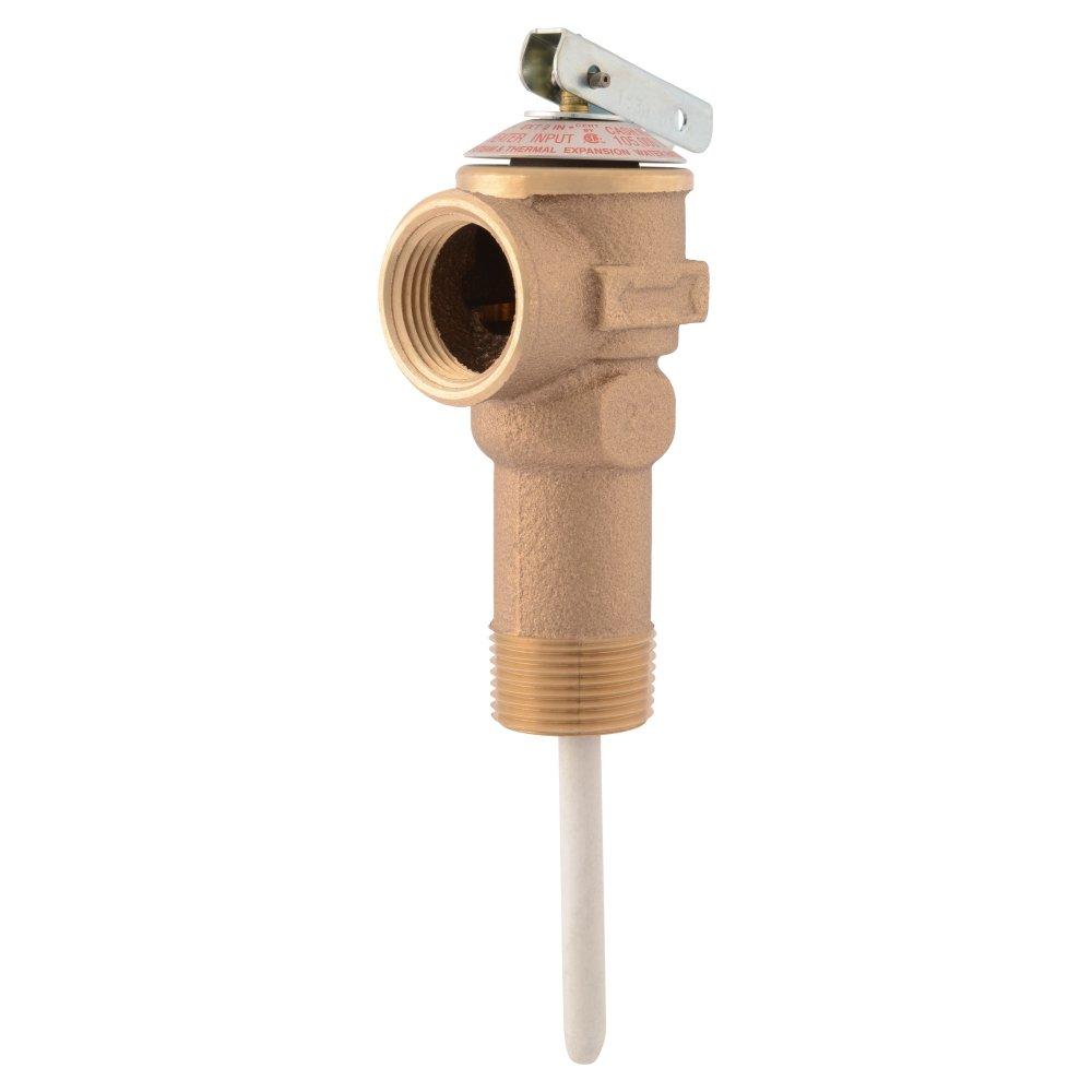 Cash Acme 18821-0150 NCLX-5L Temperature & Pressure Relief Valve, 3/4