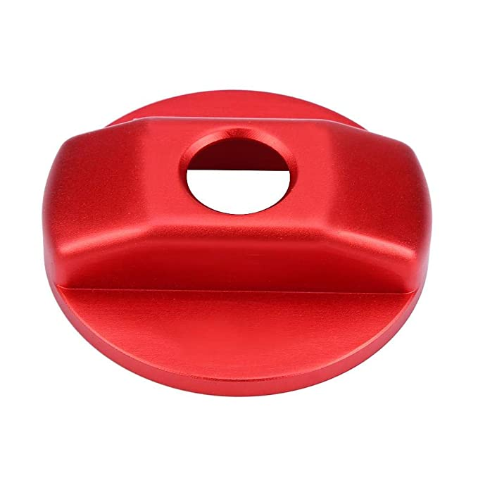 Aluminum Alloy Durable Fuel Tank Decoration Cover for 90 110 2007-2016 Red KIMISS Car Diesel Fuel Tank Cap