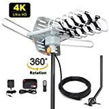 Best Antennas For Tvs - 2019 Version HDTV Antenna Amplified Digital Outdoor Antenna Review