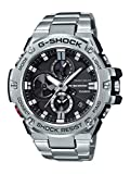 Casio Men's 'G-Shock' Quartz Resin and Stainless Steel Dress Watch, Color:Silver-Toned (Model: GST-B100D-1ACR)