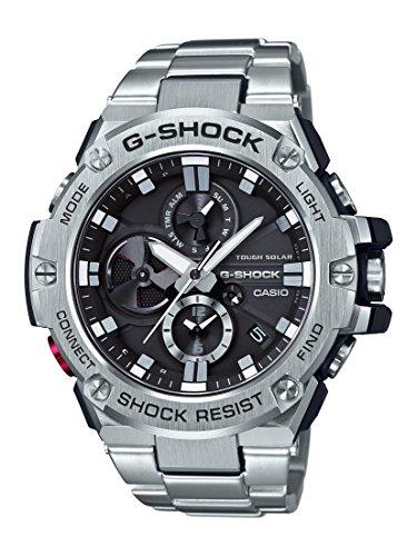 """1b7b8261cbc6 Reloj Casio para hombre """"G-Shock"""" de resina de cuarzo y acero inoxidable"""