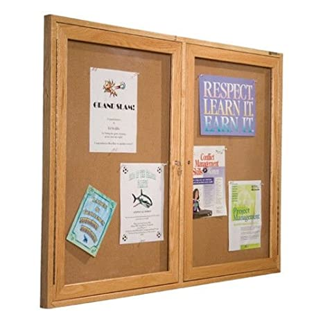 Amazon Large Message Boards With Plexiglass And Locking Doors