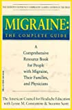 Migraine, American Council for Headache Education Staff and Lynne M. Constantine, 0440504589