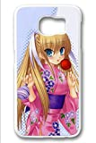 Samsung Galaxy S6 Case,White,Shock Absorbing,Premium Slim PC Material Perfectly Fitting The Case For Samsung Galaxy S6_Cute Little Busters Cartoon 1