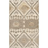 Safavieh Wyndham Collection WYD720A Handmade Natural and Multi Wool Area Rug, 2 feet 6 inches by 4 feet (2'6″ x 4′) For Sale