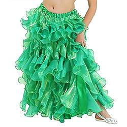 Dance Fairy Chiffon Fluffy Tutu Skirt,Opening Skirt for Party, Lake Blue