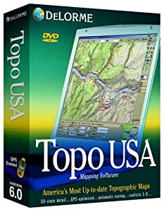 Delorme Topo USA 6.0 National Maps (DVD) on