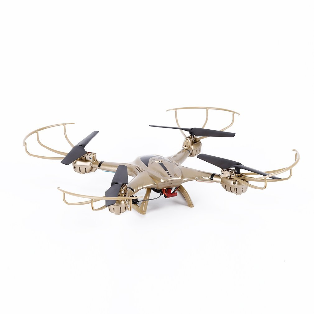 Juweishangmao 2.4GHz 4CH FPV WiFi 6 Axis Gyro Drone 0.3MP Camera Suitable with MJX X401H-Golden by Juweishangmao (Image #6)