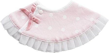 LaoZan Toalla de Saliva para Bebé Portátil Unisexo Bebé Babero Cuello Redondo Caricatura Impresión Baberos de Bebé
