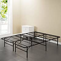 Spa Sensations Steel Smart Base Bed Frame Black, Full Size