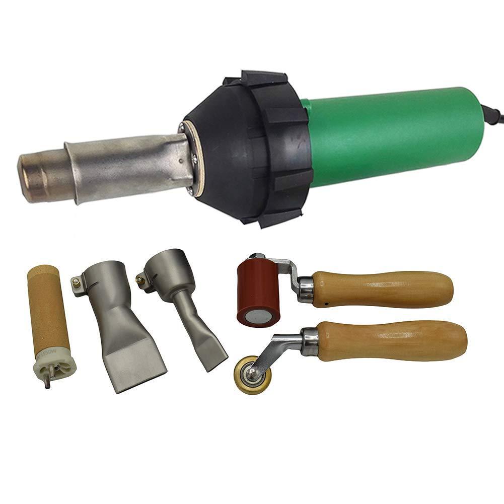 1600w Hot Air Torch Plastic Welding Gun Welder Pistol Flooring Tools Flooring Welding Kit (Heat Gun With Wide Slot Nozzle)