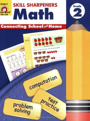 Skill Sharpeners Math, Grade 2