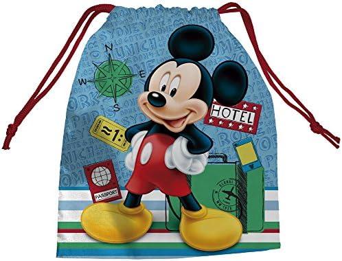 Multi-Colour Arditex WD11417 Mickey Picnic Bag 26.5 x 21.5 cm
