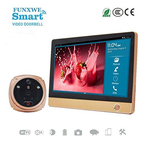 Monitor Doorbell Wireless Peephole Support
