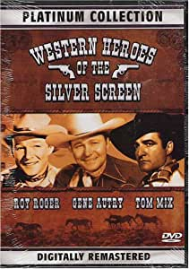 Western Heroes of the Silver Screen-(platinum Collection)