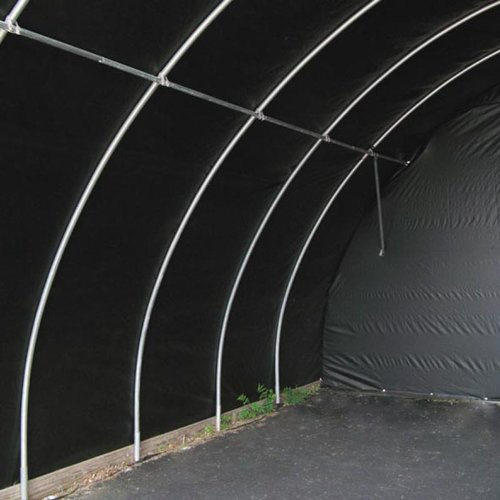 Black/White Silage Film 5 mil - 25'W x 150'L by FarmTek (Image #4)