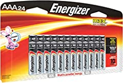 Long-lasting power and innovation is what the Energizer MAX family is all about. Meet our longest-lasting AA and AAA Energizer MAX batteries yet. They also hold their power for up to 10 years while in storage, so you have power when you need ...