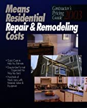 Means Contractors Pricing GD (Means Contractor's Pricing Guide: Residential & Remodeling Costs)