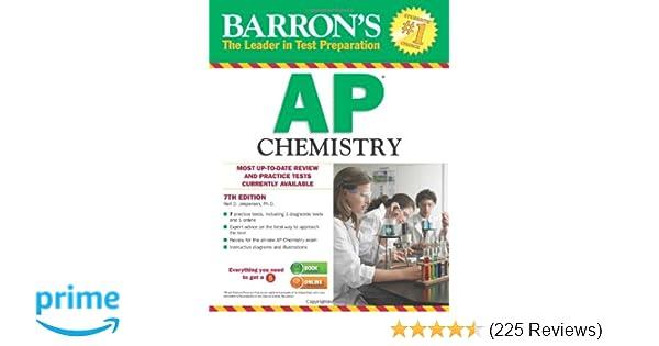 Amazon Com Barron S Ap Chemistry 9781438002712 Neil D Jespersen