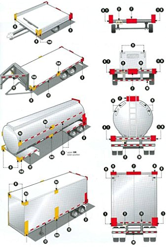 """ABN Trailer Conspicuity DOT-C2 Approved 2"""" Inch x 30' Foot Reflective White Tape 1-Pack – Vehicle, Trailer, Boat, Sign by ABN (Image #6)"""