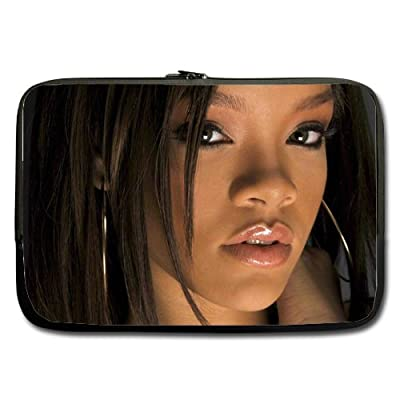Rihanna Star Custom computer Sleeve Laptop sleeve For Macbook Pro 11inch (Twin Sides)