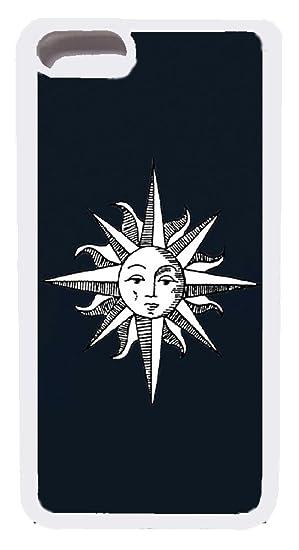 Amazon Com Iphone 7 Plus Case Custom Moon And Sun Mixed