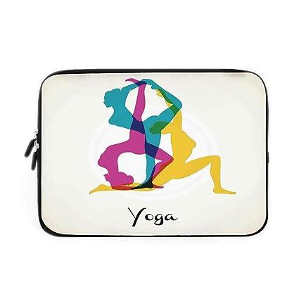 Amazon.com: Yoga Decor Laptop Sleeve Bag,Neoprene Sleeve ...