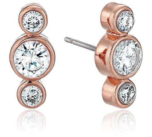 kate spade new york round linear stud earrings