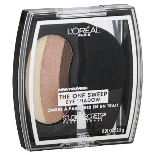 L'oreal Paris Studio Secrets Professional the One-sweep Eye Shadow, Natural Blue Eyes, 0.09-ounce, 2 Ea