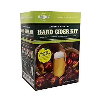 Mr. Beer Hard Cider Home Brewing Craft Cider Making Kit