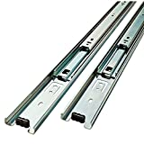 B-Line High Quality Full Extension Drawer Slide 100-Pound Capacity Side Mount, Pair … (22'' (550mm))