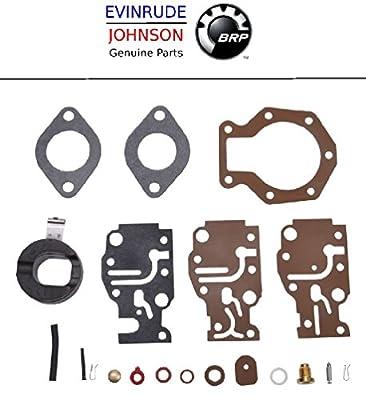 Johnson Evinrude Outboard Engine Part# 439073 Premium Carburetor Repair Kit BRP# 777722